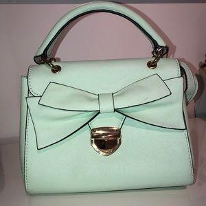 2/30$ Aldo Turquoise Handbag